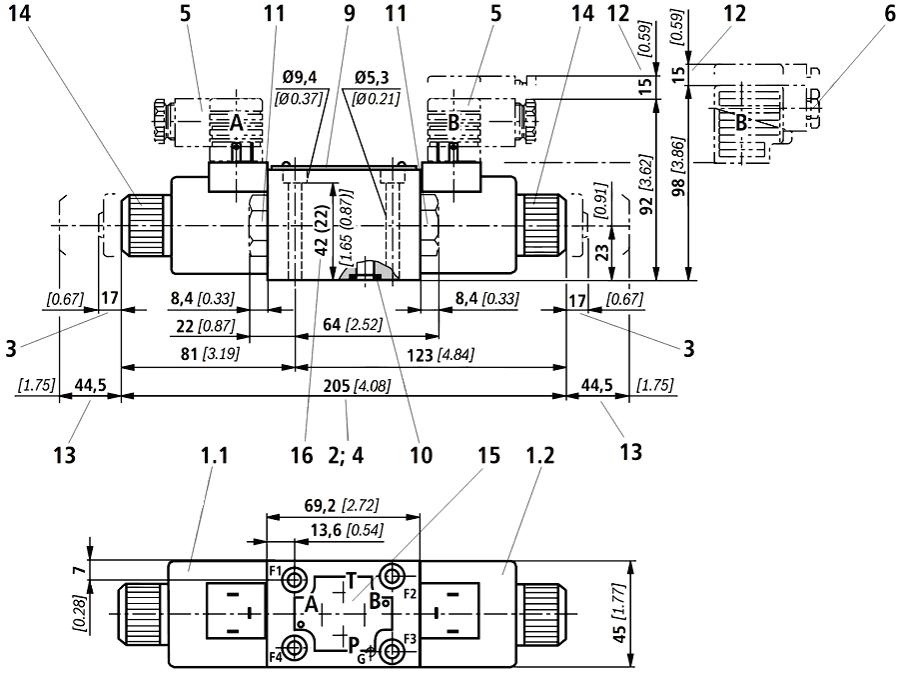 Схема ВЕ6 с двумя